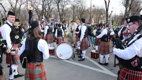 St Patrick Parade - Iren stock footage