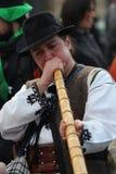 St Patrick Tagesparade Lizenzfreie Stockfotografie