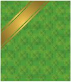 St. Patrick Pattern. Clover leaf pattern to be used for St. Patrick's day publications Royalty Free Stock Photography