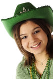 St. Patrick Portrait Stock Images