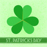 St. Patrick retro background Stock Image