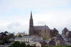 St Patrick Roman Catholic Church, Downpatrick som är nordlig - Irland Arkivfoton