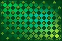 st patrick s клевера argyle Стоковое Изображение RF