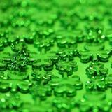 st patrick s дня предпосылки Зеленый Стоковое Изображение RF