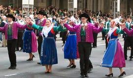 st patrick s парада дня Стоковые Изображения
