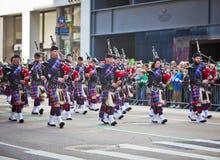 st patrick s парада дня Стоковая Фотография RF
