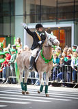 st patrick s парада дня Стоковое Изображение RF