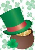 St. Patrick`s background Stock Image
