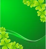 St. Patrick's background Stock Image