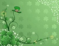 St. Patrick's Background Royalty Free Stock Photo