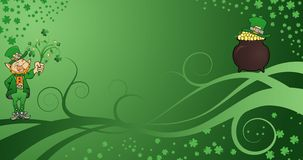 St. Patrick's Background Stock Photo