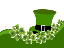 St. Patrick's background with space for your taxt Royalty Free Stock Images