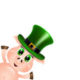 St. Patrick's background Royalty Free Stock Images