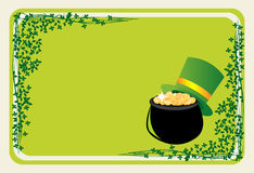 St Patrick's banner. Banner for St Patrick's Day Royalty Free Stock Photos