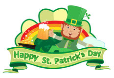 St. Patrick's Banner Stock Images