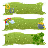 St. Patrick's banners Royalty Free Stock Photo