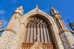St. Patrick's Basilica Architecture: Fremantle, Western Australia royalty free stock images