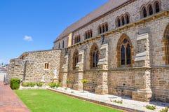 St. Patrick's Basilica: Limestone Brick Architecture Stock Photos