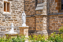 St. Patrick's Basilica: Religious Statues Detail Royalty Free Stock Photography