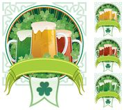 St. Patrick's Beer Stock Photo