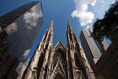 St. Patrick's Cathedral. New York Royalty Free Stock Image