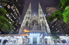 St. Patrick's Cathedral. In New York City Stock Photo