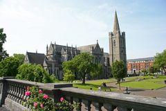 St. Patrick's Cathedral. Dublin, Ireland Stock Photos
