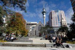 St Patrick's Cathedral in Auckland Stock Image