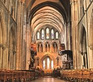 St. Patrick's Cathedral Dublin Stock Photo