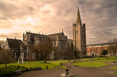 St. Patrick's Cathedral in Dublin, Ireland. Royalty Free Stock Image