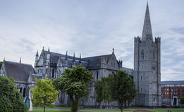 St. Patrick's Cathedral, Dublin. St. Patrick's Cathedral in Dublin, Ireland royalty free stock photo
