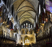 St. Patrick`s Cathedral, Dublin Ireland Stock Photography