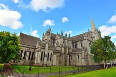 St Patrick's Cathedral, Dublin Stock Image