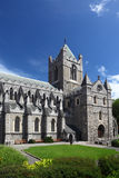 St. Patrick's Cathedral and grass in Dublin Stock Photos