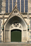 St. Patrick's Cathedral main entrance. St Patrick's Cathedral in Melbourne, Australia royalty free stock photography