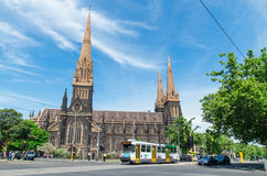 St Patrick's Cathedral in Melbourne Royalty Free Stock Photography