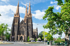 St Patrick's Cathedral in Melbourne Royalty Free Stock Photo