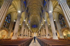 St. Patrick's Cathedral New York Stock Photos
