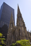 St. Patrick's Cathedral New York City Stock Photo