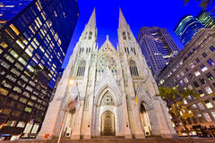 St. Patrick`s Cathedral Royalty Free Stock Image