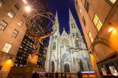 St. Patrick's Cathedral in New York City Stock Photos
