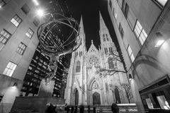 St. Patrick's Cathedral in New York City Royalty Free Stock Photos