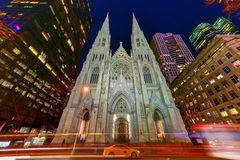 St. Patrick's Cathedral in New York City Royalty Free Stock Photography