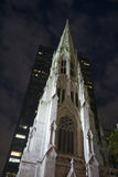 St. Patrick's Cathedral Spire Stock Image