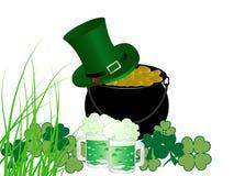 St.Patrick's cauldron Royalty Free Stock Images