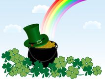 St.Patrick's cauldron Royalty Free Stock Photo