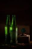 St Patrick ` s dag groen bier royalty-vrije stock foto