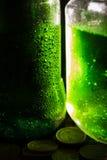 St Patrick ` s dag groen bier royalty-vrije stock afbeelding