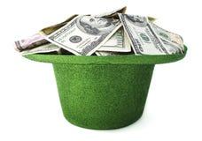 St Patrick& x27; s Dagcontant geld stock fotografie