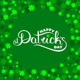 St Patrick `s dagkaart royalty-vrije illustratie